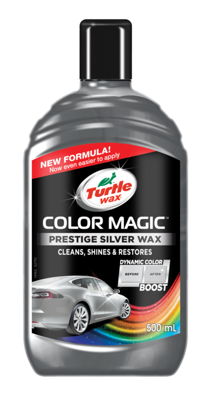 Turtle Wax Color Magic – Strieborný 500ml